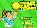 Tennis-spiel-smash-tennis-party