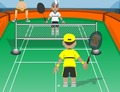Badminton-game-badminton-supa