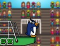 Diving-game-with-a-penguin