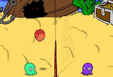 Volley-ball-game-with-octopuses-tentakel-volley