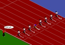 Racing-game-100m-trkac