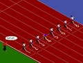 Racing-game-100m-sprinter